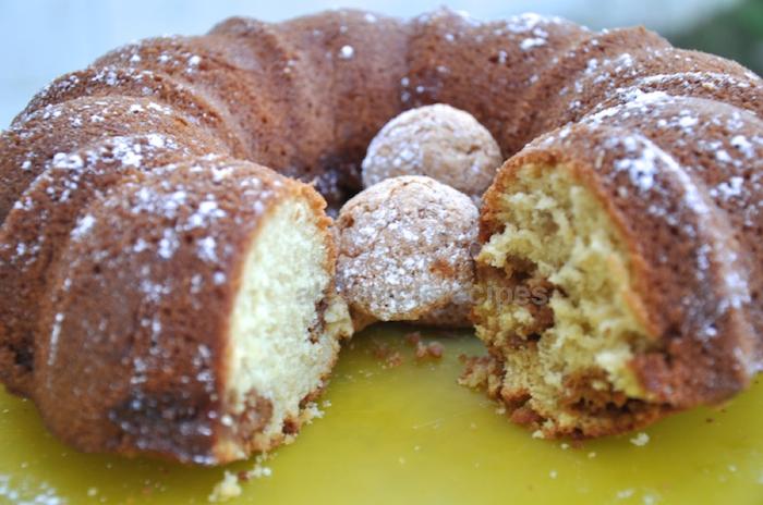 Coffee and Amaretto cake