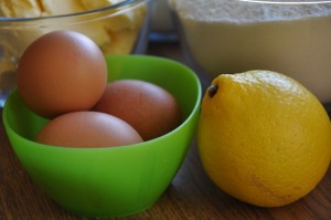 eggs and lemon for a perfect shortcrust pastry