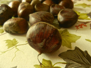 peel the chestnuts