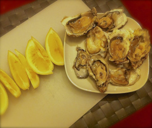 lemons are perfect with oysters