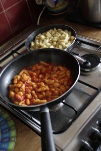 tomato gnocchi- sauges gnocchi