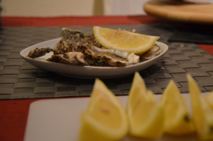 serve fresh oyster