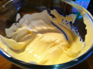 chantilly cream done