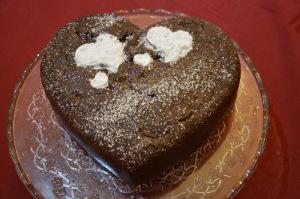 Saint Valentine's cake © alesimplerecipes