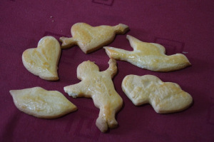 kiss-cupido-hearts for Saint Valentine Cookies