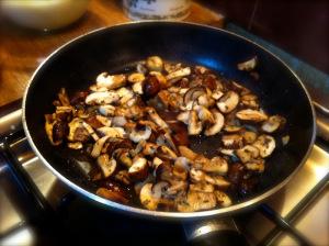 mushroom are cooked
