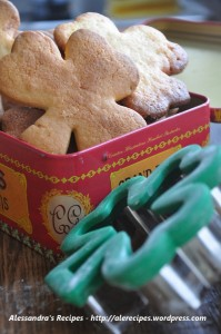clover shape biscuits cooked and served cool