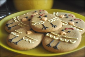 Easter biscuits recipe decorated