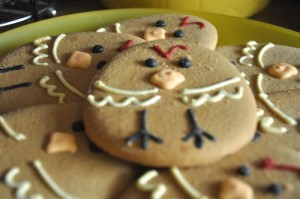 Viewing of Easter biscuits recipe decorated
