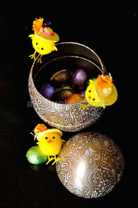 mini Easter eggs