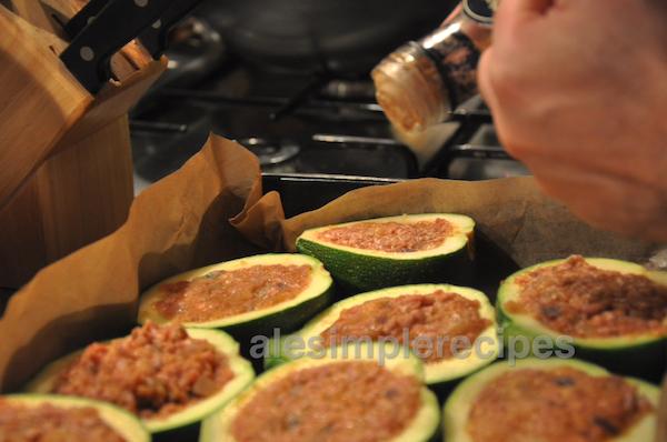Add nutmeg before baking