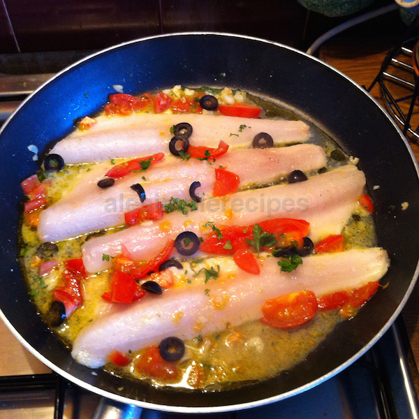 Add Zander fillets to the frying pan