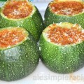 vegetarian recipe: Courgettes with tomato