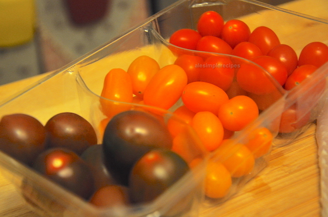 selection of cherry tomatoes